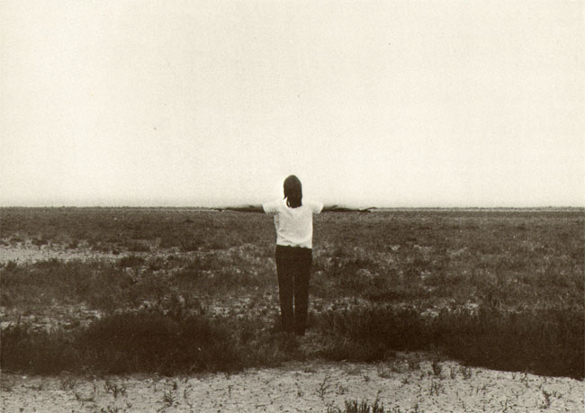een vlakke horizon