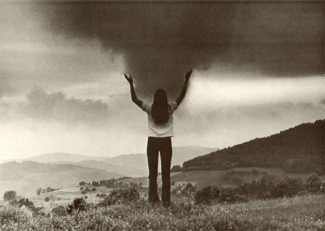 een wolkenlucht