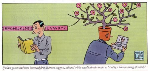 illustratie in the new yorker van 16 mei 2005...