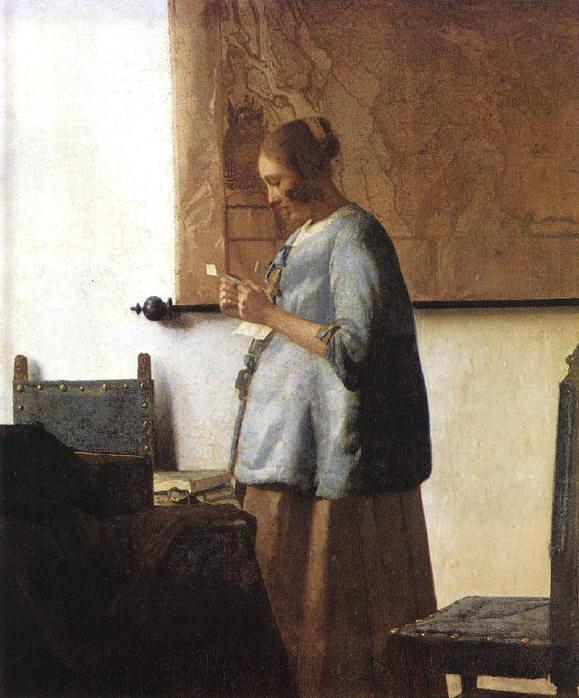 de brief - vermeer