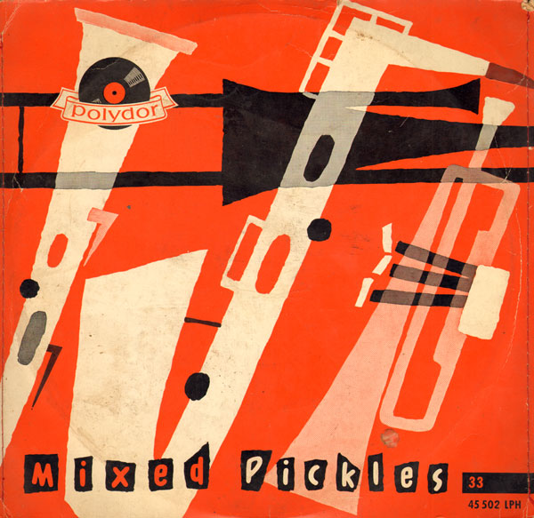 bijna abstracte blaasinstrumenten...