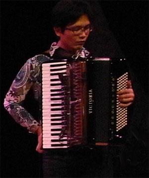 de accordeonist