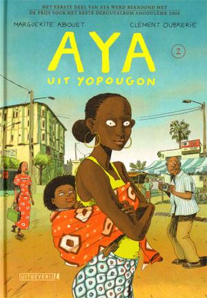 deel 2 - aya met de baby van adjoua op de rug