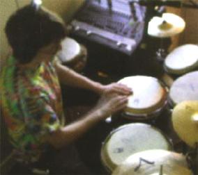 en vele soorten van percussie...