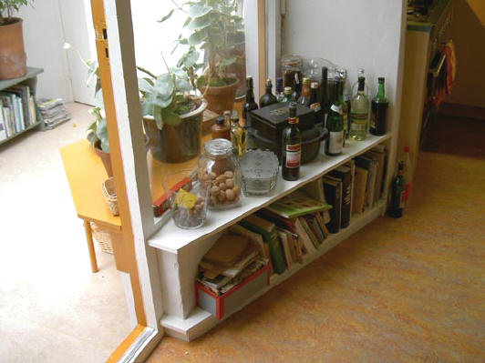 Kastje in de keuken