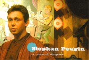 percussionist en vibrafonist stephan pougin...