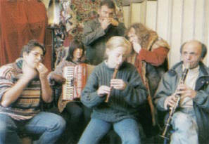 een paar van de muzikanten op de cd's...