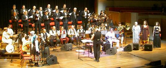 veertigkoppig orkest...