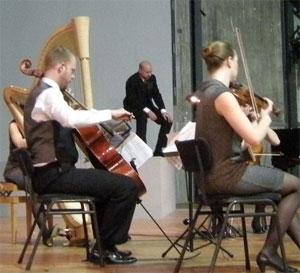 deel van het orkest...