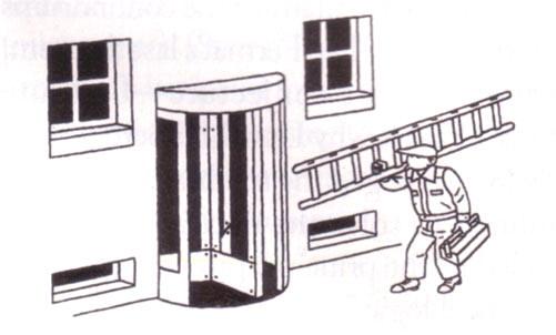 draaideuren en ladders...
