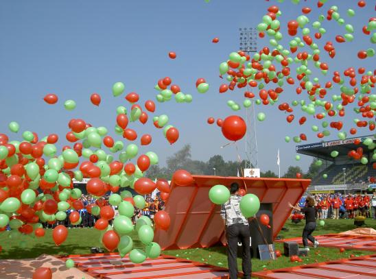 feestelijke balonnen...