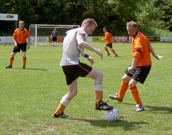 voetbaldansje...