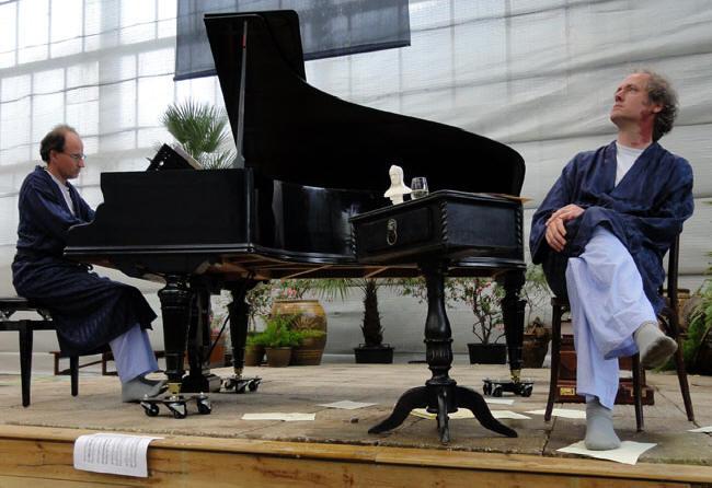 pianist en verteller