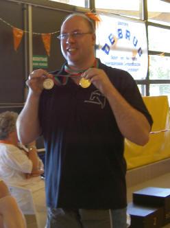 twee medailles
