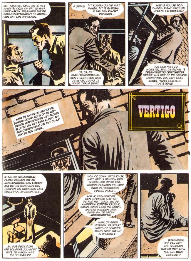 pagina uit een van de extra verhalen...