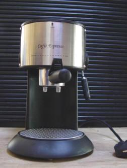 een espressoapparaatje...