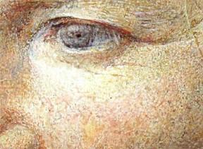 detail - een van haar ogen...