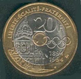 twintig francs