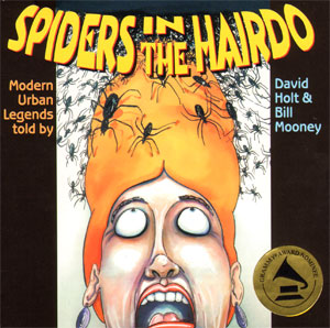 spiders in the hairdo
