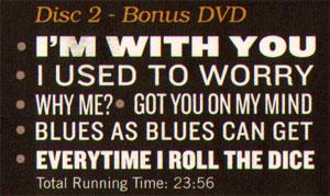 delberts bonus dvd