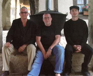drie mannen...