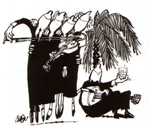 dialoog voor gitarist en strijkkwartet...