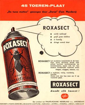 reclame voor roxasect...