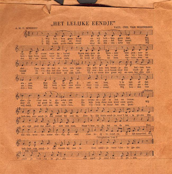 tekst van het liedje...
