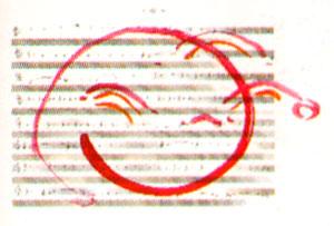 bladzijde van de partituur