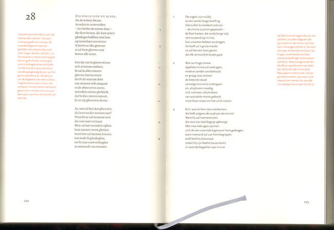 dubbele pagina uit het boek...