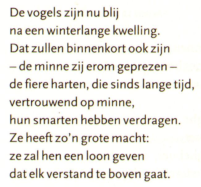 en in vertaling naar hedendaags nederlands
