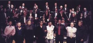 het hele orkest...