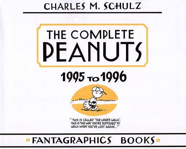 peanuts titelpagina