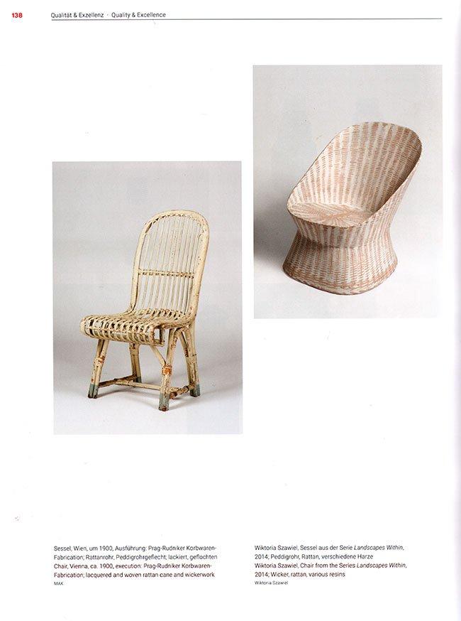 stoelen uit 1900 en 2014