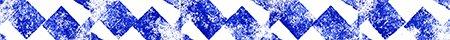 een blauwe stempelgrafiek