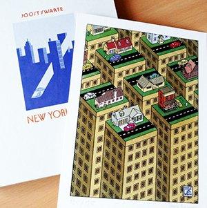 new york boek luxe editie met prent