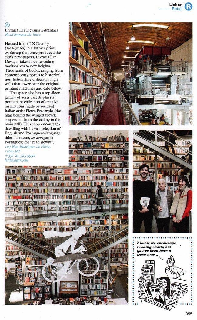een boekwinkel...