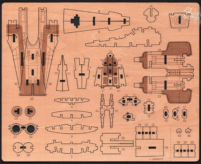 lasergesneden houten onderdelen