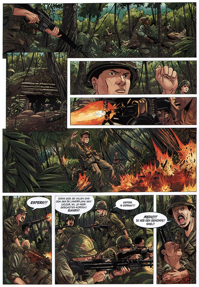 josh in de jungle van vietnam