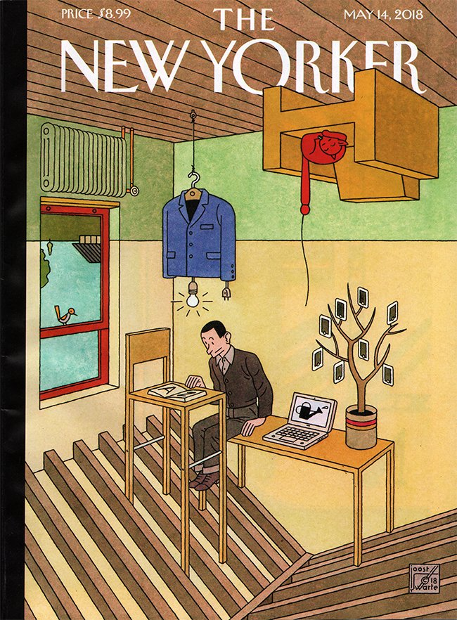 cover van the New Yorker