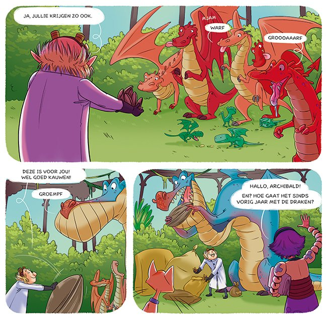 archibald en de draken