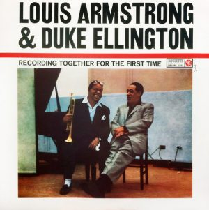 louis armstrong and duke ellington_recording together for the first time