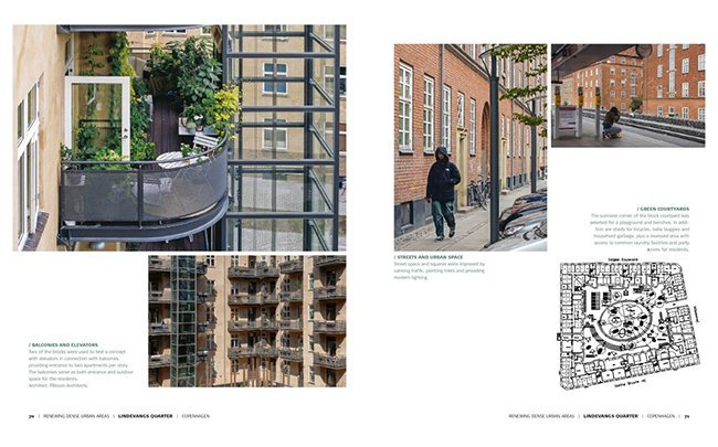 balkons en binnenplaatsen