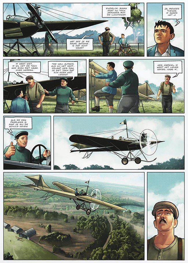 de eerste luchtdoop