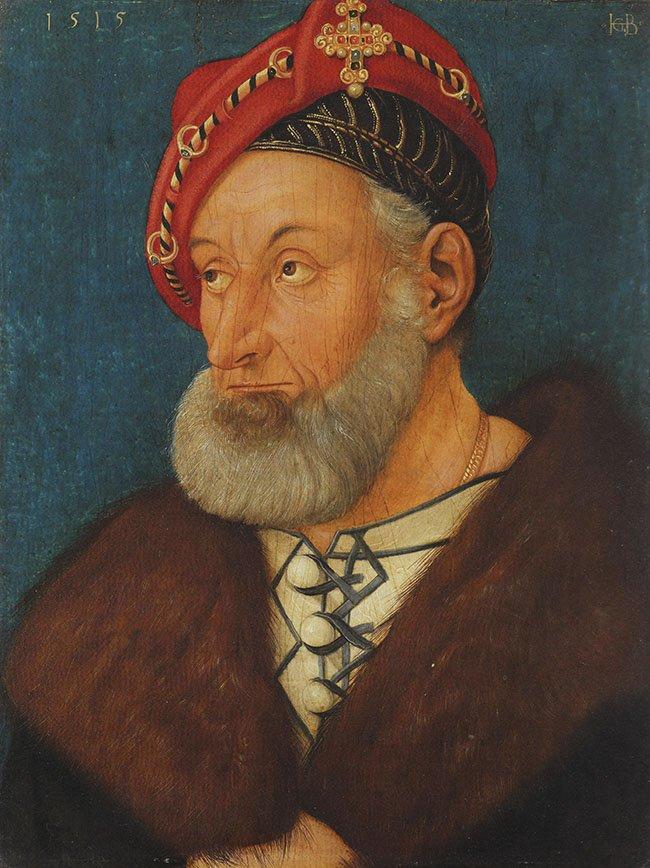 Markgrafen Christoph I von Baden