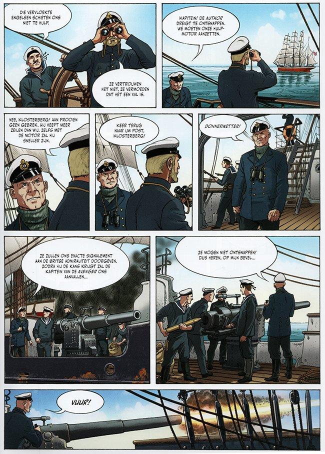 Klosterberg negeert een bevel