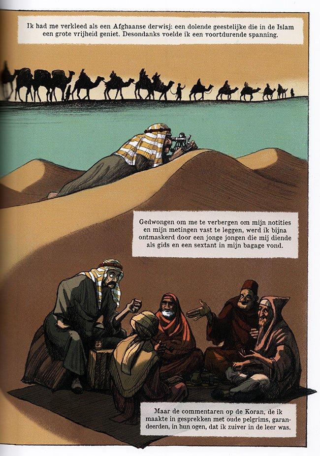 burton in arabië
