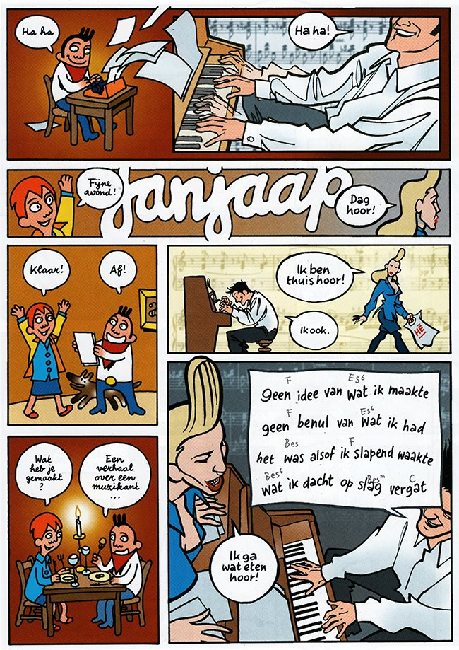 janjaap schrijft een verhaal