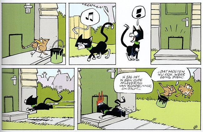kattenluikje...