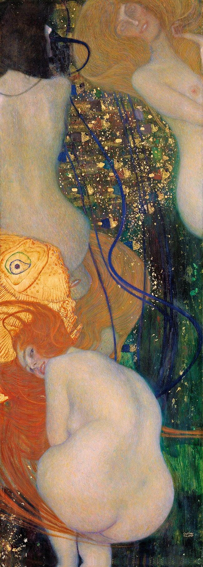 Totentanz - Gustav Klimt - Goudvissen - 1901-02